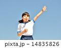 吹く 笛 子供の写真 14835826