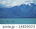 テカポ湖とカヌー 14839323