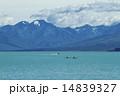 テカポ湖とカヌー 14839327