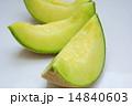 アールスメロン カットメロン 夏の果物の写真 14840603