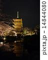 五重塔と桜 14844080