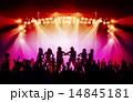 コンサート ステージ 照明のイラスト 14845181