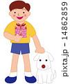 記念日 犬 ペットのイラスト 14862859