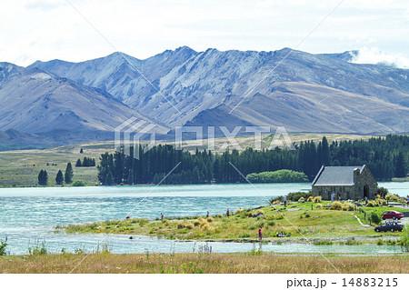 美しい湖畔 14883215