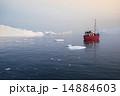 グリーンランド 氷山 氷の写真 14884603