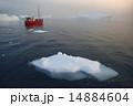 グリーンランド 氷山 氷の写真 14884604