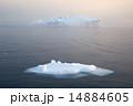 グリーンランド 氷山 氷の写真 14884605