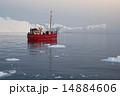 グリーンランド 氷山 氷の写真 14884606