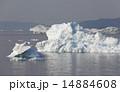 グリーンランド 氷山 氷の写真 14884608