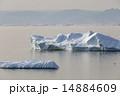 グリーンランド 氷山 環境の写真 14884609