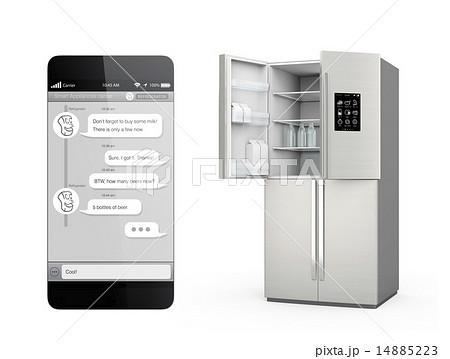 チャットアプリで冷蔵庫と対話して、足りないものを買う。モノのインタネットのコンセプト 14885223