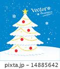 クリスマス 樹木 樹のイラスト 14885642