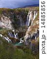 プリトゥヴィツェ湖群国立公園の紅葉 14885856