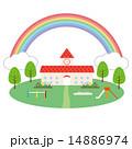 素材-虹,幼稚園,遊具 14886974