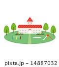 素材-幼稚園,遊具 14887032