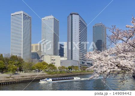 春の大阪ビジネスパーク 14909442