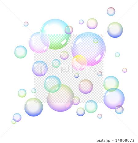 Color Soap bubblesのイラスト素材 [14909673] - PIXTA