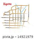 マップ ベクター 道路地図のイラスト 14921979
