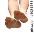足の裏 素足 足のイラスト 14924563
