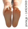 足の裏 素足 足のイラスト 14924569