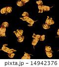パターン 動物 犬のイラスト 14942376