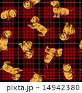 パターン 動物 犬のイラスト 14942380