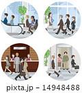 オフィスで働く人々 14948488