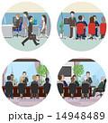 オフィスで働く人々 14948489