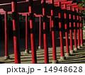 神社 鳥居 稲荷神社の写真 14948628