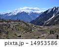 山岳地帯 風景 絶景の写真 14953586