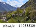 ナンガパルバット近郊 山岳地帯 風景の写真 14953589