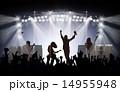 メタルのライブステージ 14955948