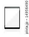タッチパネル 端末 タブレットのイラスト 14956490