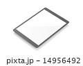 タッチパネル 端末 タブレットのイラスト 14956492