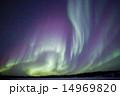 オーロラ イエローナイフ ブレイクアップの写真 14969820