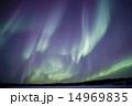 オーロラ イエローナイフ ブレイクアップの写真 14969835