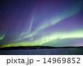 オーロラ イエローナイフ ブレイクアップの写真 14969852