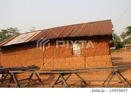 西アフリカ・ガーナの住居 14970857