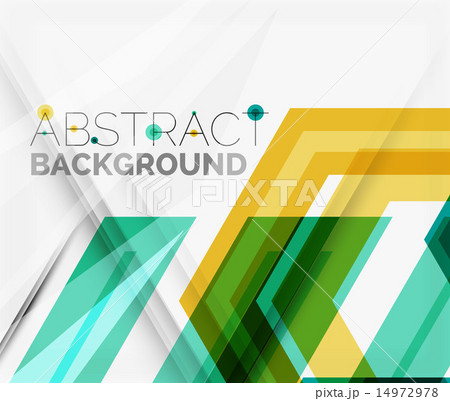 Geometric abstract background. Arrow designのイラスト素材 [14972978] - PIXTA