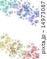 ジオメトリック パターン 模様のイラスト 14973087