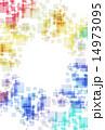 ジオメトリック パターン 模様のイラスト 14973095