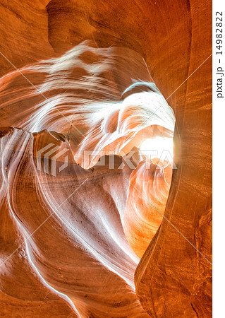 heart shaped Antelope Canyon view