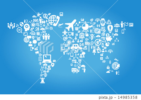 Global business concept 14985358