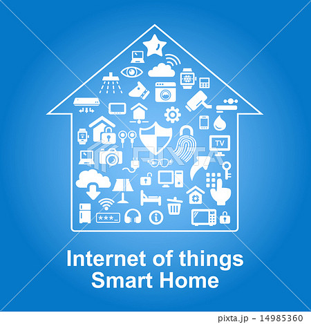 Smart Home by internet concept 14985360