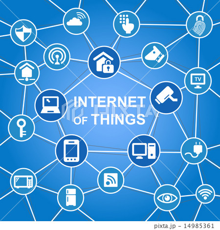 Internet of things concept 14985361