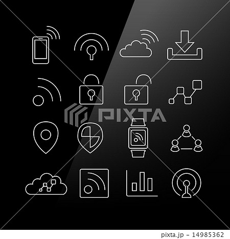 Internet of things icon 14985362