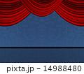 ステージ 緞帳 幕のイラスト 14988480