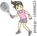 テニス 女性 14988623