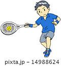 テニス 男性 14988624
