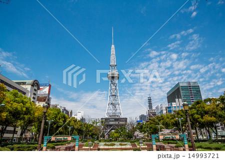 名古屋 都市風景 テレビ塔 14993721